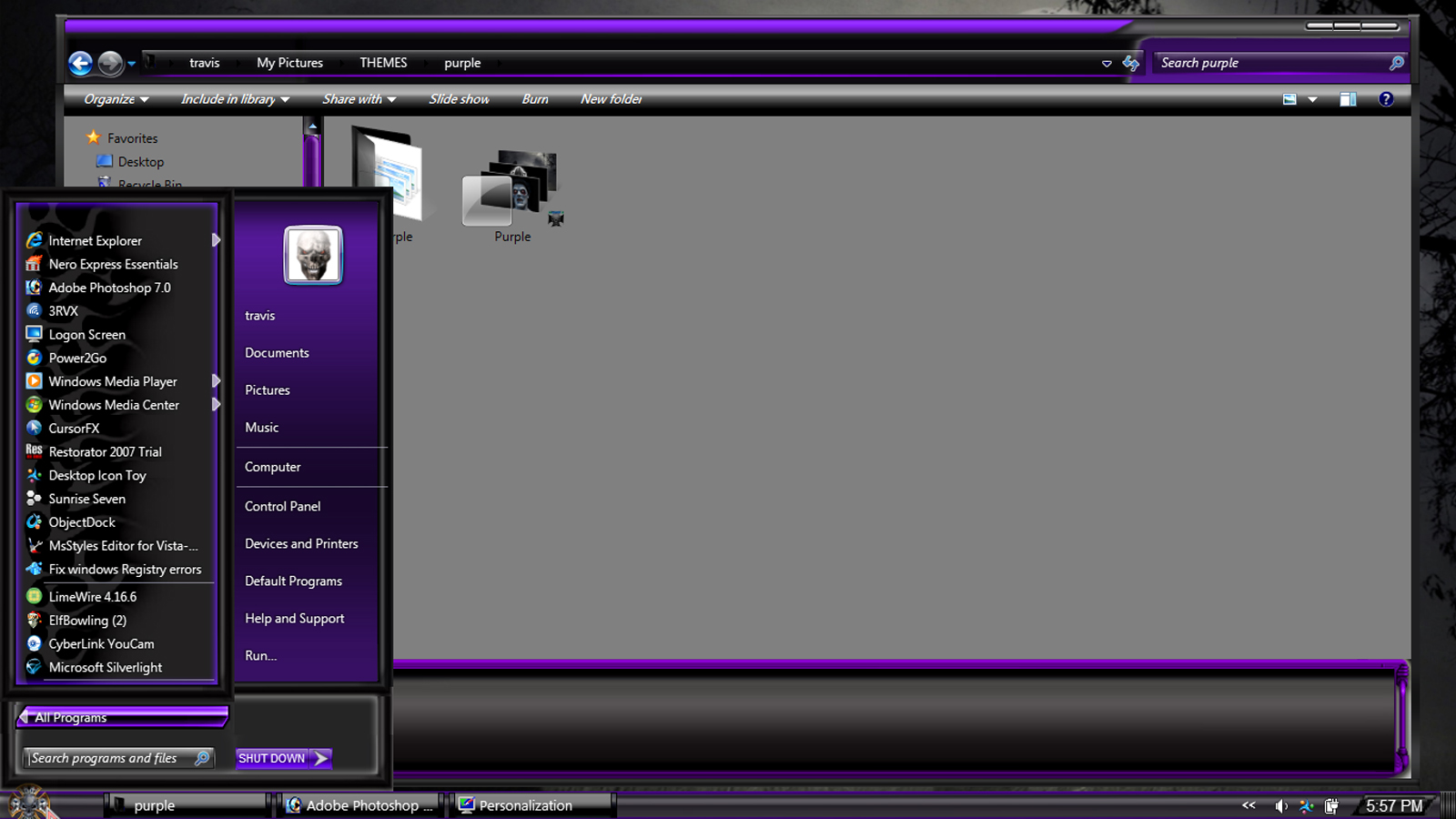 Download Windows 7 Purple wallpaper HD Widescreen Wallpaper from ...