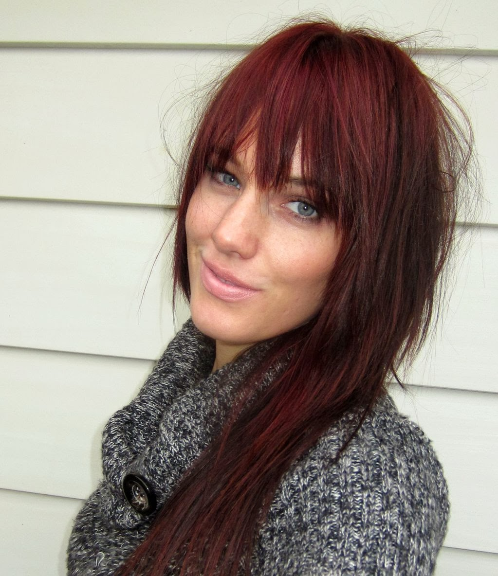 Burgundy hair color hair color styles