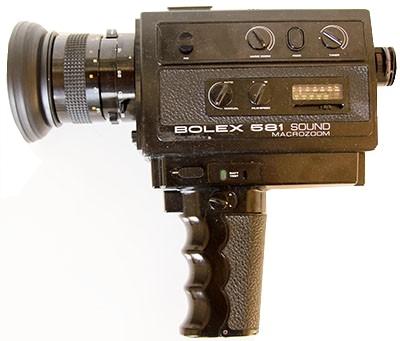 Caméra super 8 Bolex 581 Sound Macrozoom