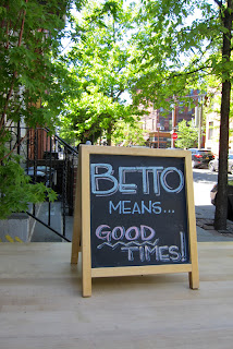 betto williamsburg dinners with friends