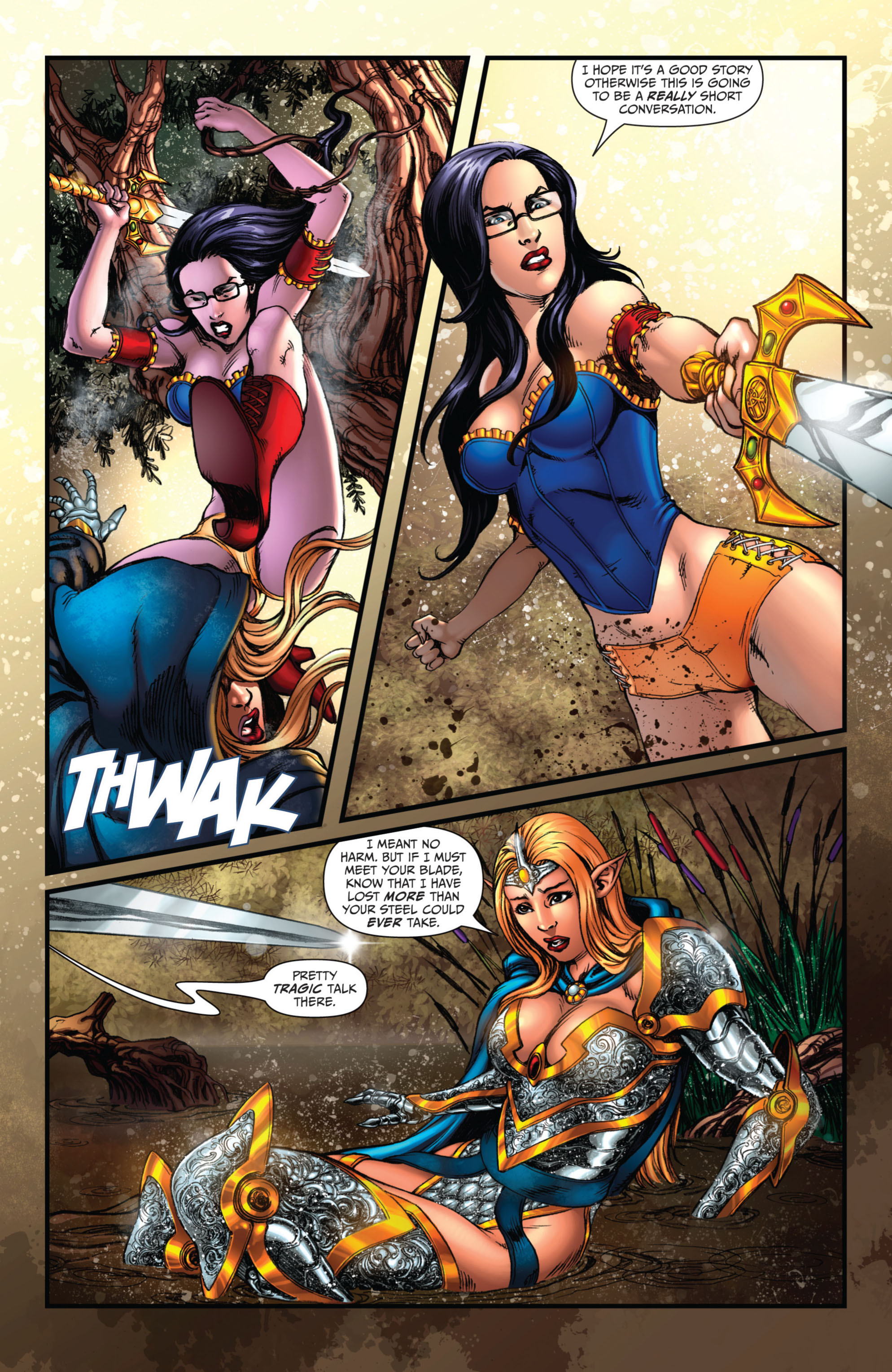 Grimm Fairy Tales (2005) Issue #73 #76 - English 5