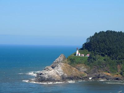 Haceda Head Lighthouse in Oregon
