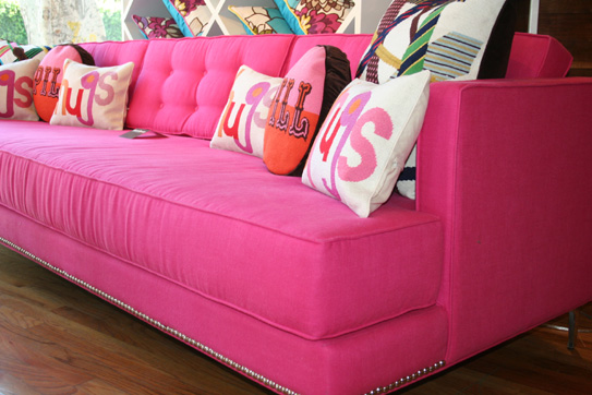 cheap and chic pink style. Black Bedroom Furniture Sets. Home Design Ideas