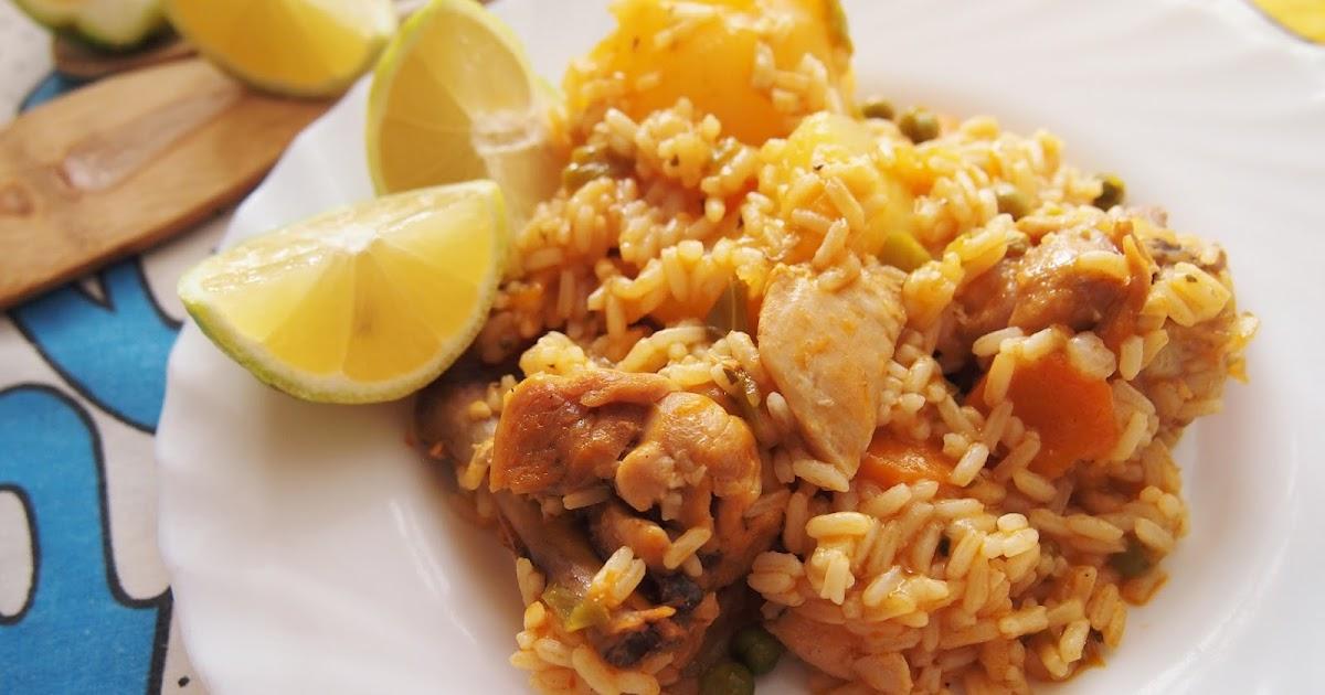 Aqu y ahora arroz con pollo en olla express - Judias verdes en olla express ...