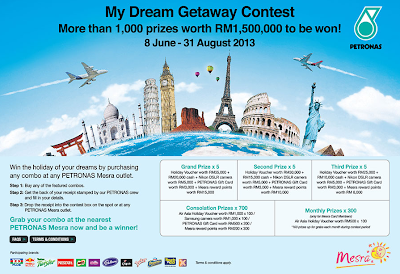 My Dream Getaway Contest PETRONAS