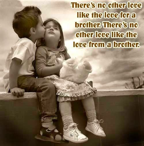 Brother Quotes - There's no other love