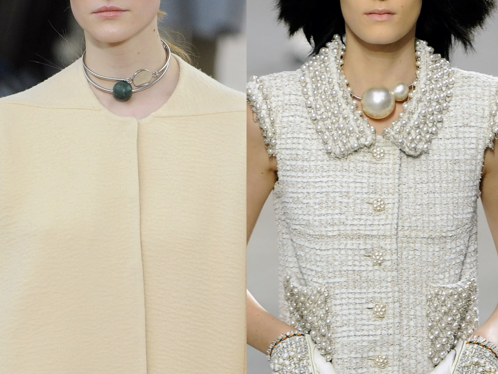 Celine Inspired Necklace Necklaces From Céline's fw