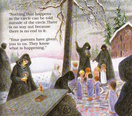 This 90'S Children's Book Warned Families Against Something Horribly Bizarre