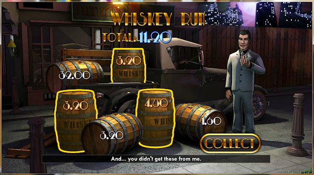 Play the Whiskey Run Feature Game