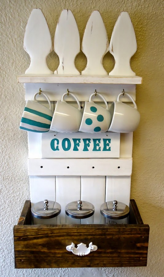 Picket Fence Coffee Station - SOLD