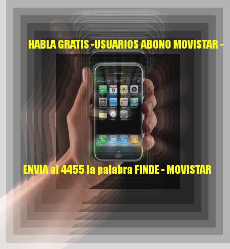 SOLO PARA ARGENTINA- USUARIOS MOVISTAR ABONO- HABLA GRATIS FINES DE SEMANA HASTA EL MES DE AGOSTO