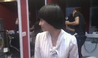 dạy học nghề cắt tóc, tạo kiểu tóc, ép, uốn, nhuộm , kiểu tóc nam nữ 3D, tại trung tâm Korigami Hà Nội
