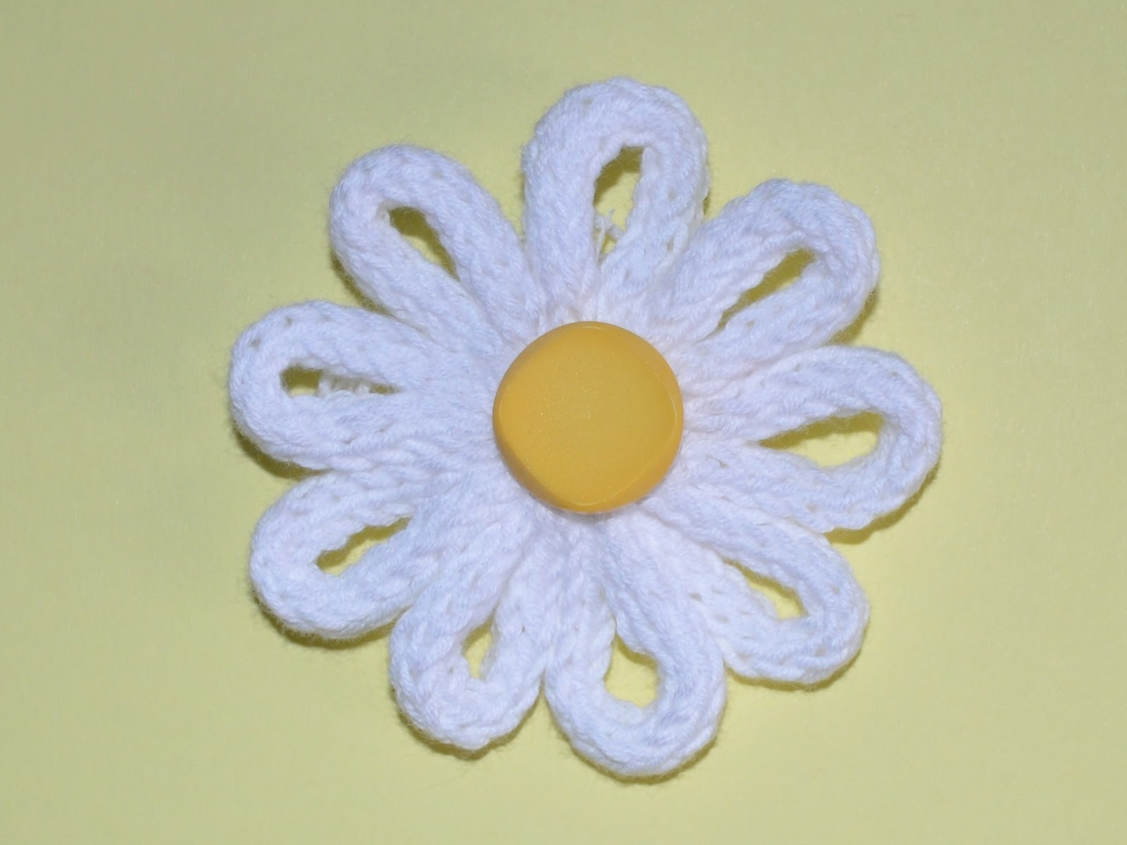 Knitting Flowers Design : Knitted flowers collection vitalina craft