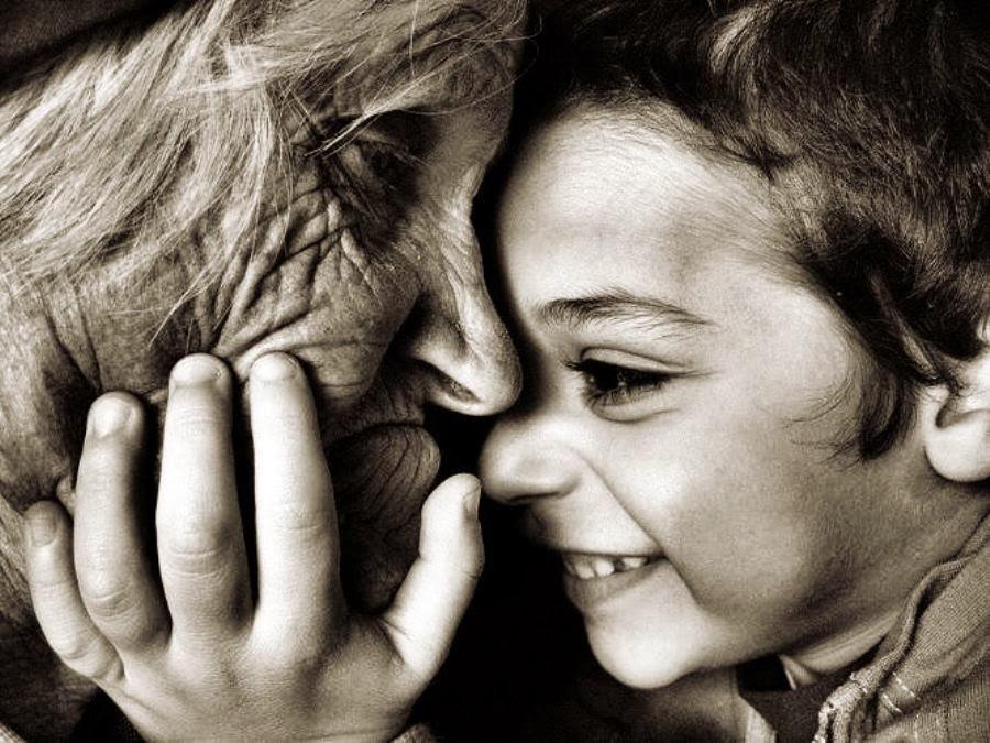 En la vejez y en la infancia el amor de los demás nos mantienen con vida