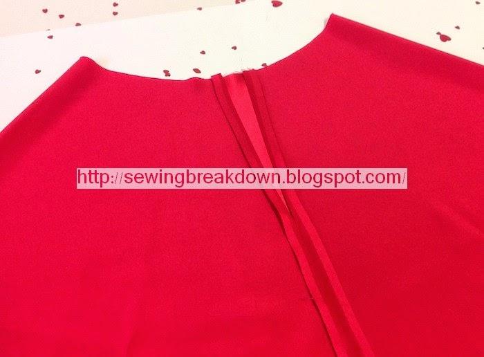 خطوات خياطة قميص نوم