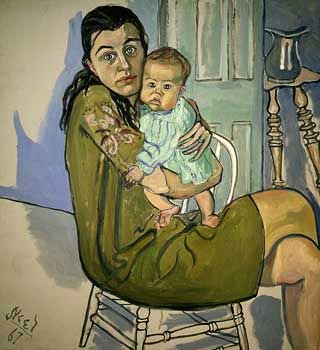 Alice Neel - 1967 Nancy and Olivia