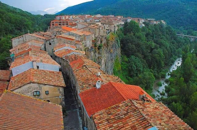 Castellfollit de la Roca, Spain, Girona, Catalonia, Spain - Espanha, España