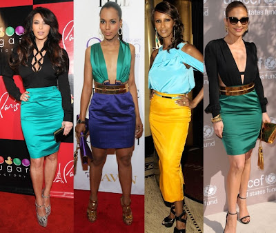 Color Block Trend for Spring Season 2011