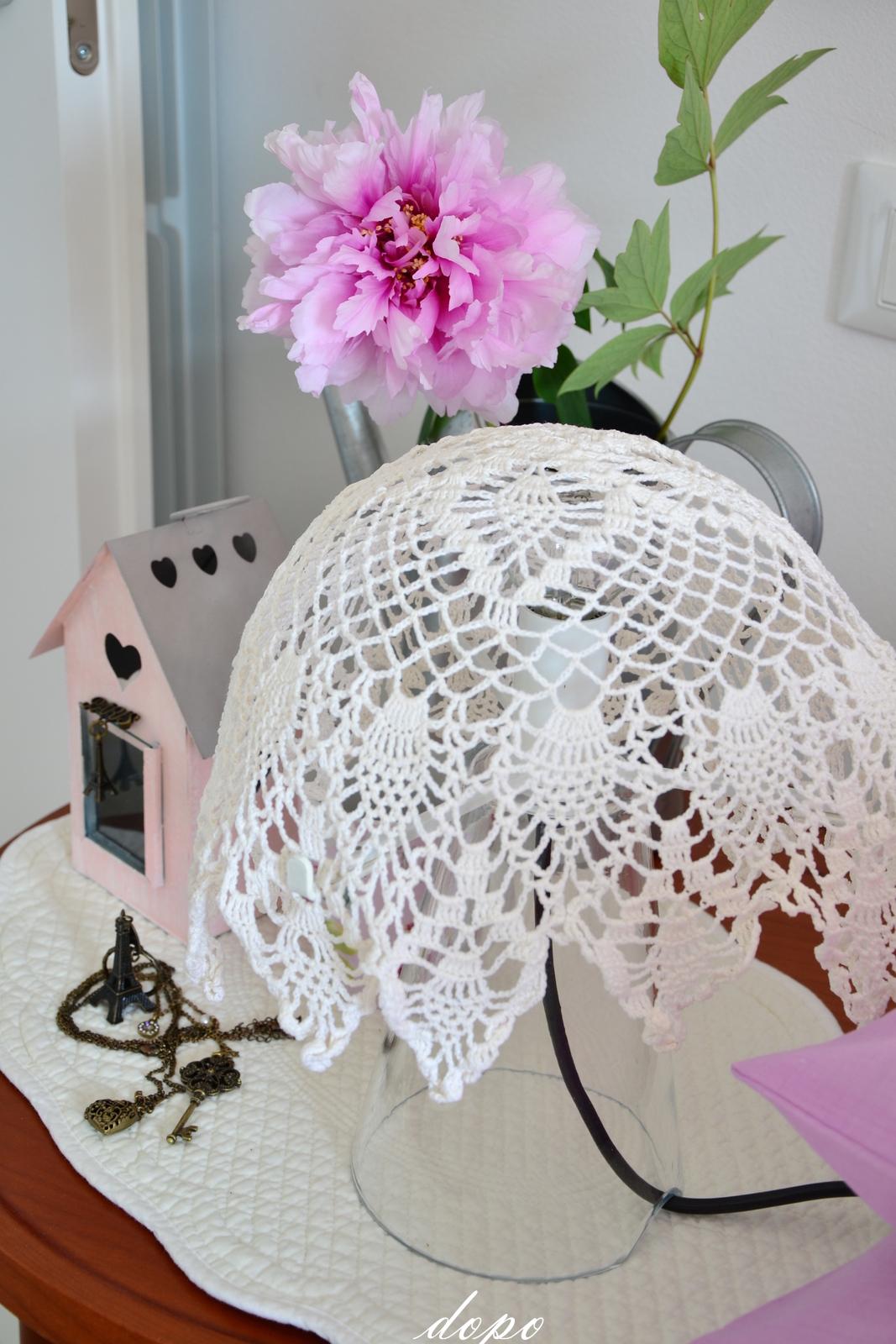 shabbychiclife: Come recuperare una lampada