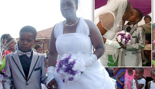 Wanita 60 Tahun Nikahi Bocah SD
