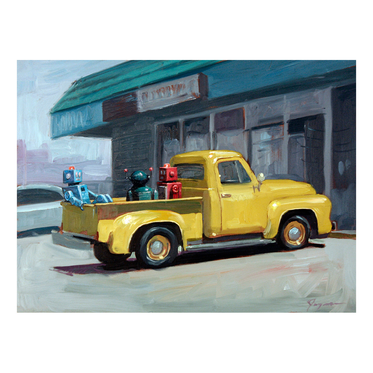 Old Ford by Eric Joyner