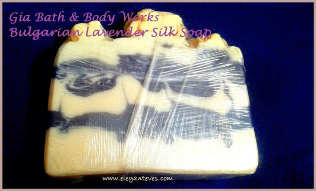 Gia Bath & Body Works Bulgarian Lavender Silk Soap