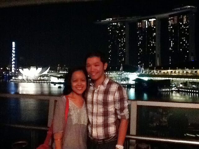 Wedding Proposal at Lantern, Fullertone Bay Hotel in Singapore