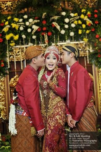 tips mudah memilih warna baju pengantin