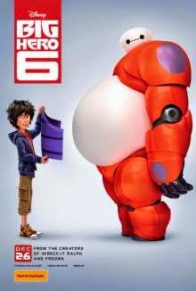 Big Hero 6 (2014) English Movie Poster