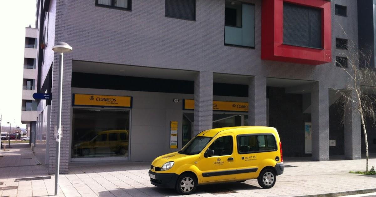 Salburua burdinbide nueva oficina de correos for Oficina de correos parla