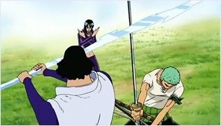 โซโลปกป้องโรบิ้นจากอาโอคิจิ