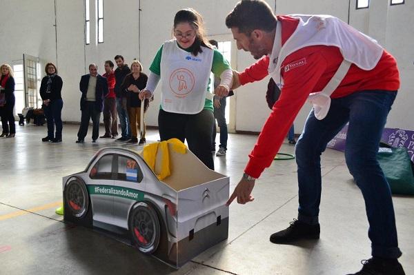 """Citroën y """"Pechito"""" López, nuevamente junto a la Fundación Baccigalupo"""