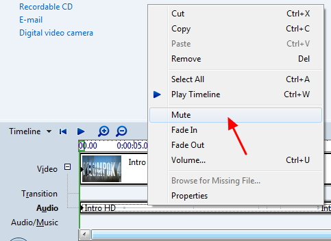 Cara Menghilangkan Suara pada Video