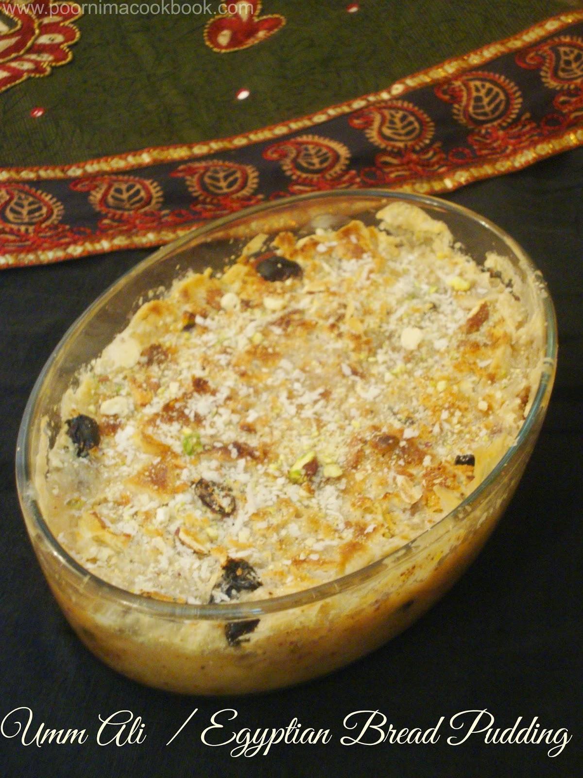 Poornimas cook book umm ali egyptian bread pudding forumfinder Gallery