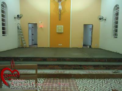 Capela de Santo Antonio em Rafael Godeiro conclui reforma de Presbitério