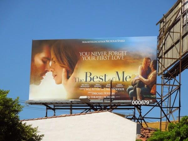 Best of Me movie billboard
