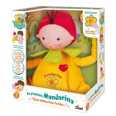 TOYS : JUGUETES - El Mundo de Pepito La pequeña mandarina | Muñeco - Peluche Producto Oficial 2015 | Diset 60157 | A partir de 9 meses Comprar en Amazon España