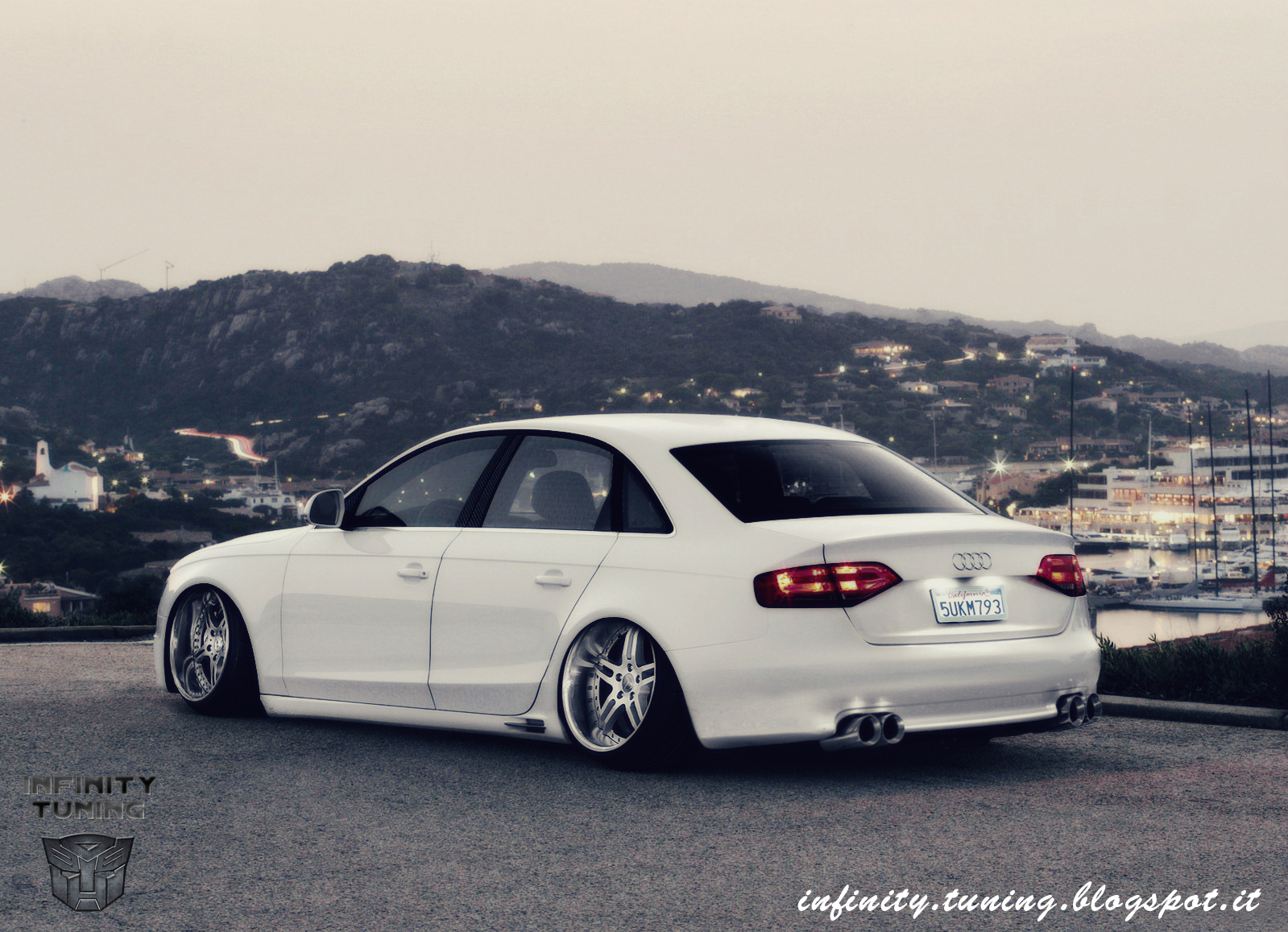 Another Stance This Time Audi A4 Infinity Tuning Blog