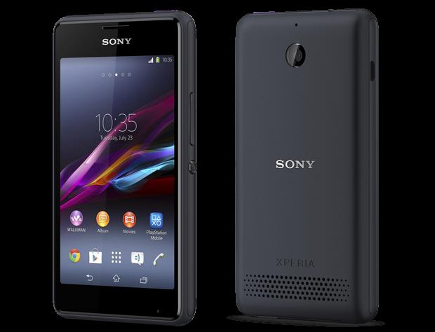 Novo smartphone Xperia E1 vai ser vendido no Brasil