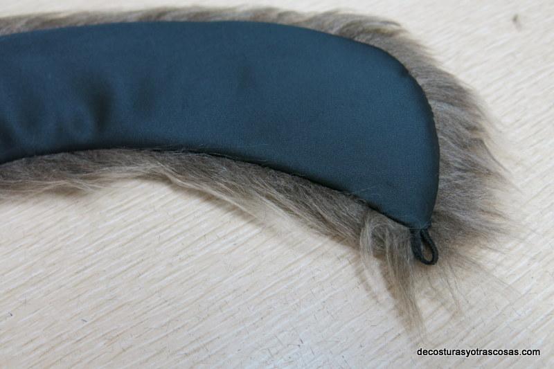como hacer un cuello de piel