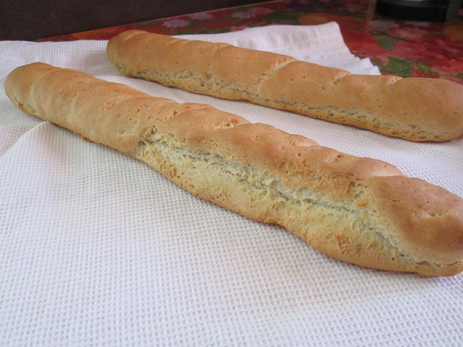 Recette du pain sans gluten fait maison baguettes - Faire du pain sans gluten ...