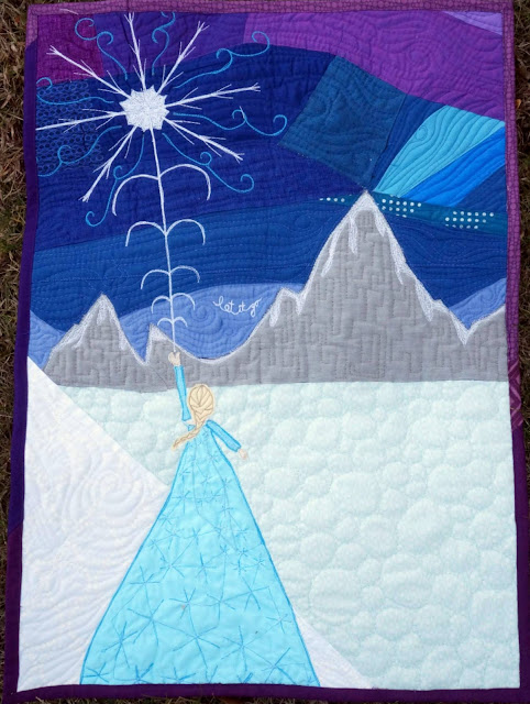 http://www.quiltyhabit.com/2015/12/let-it-go-frozen-mini-quilt.html