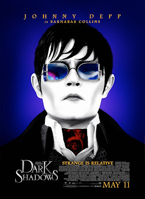 Johnny Depp as Barnabas Collins Dark Shadows Poster