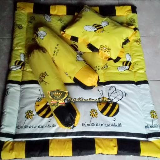 Baby bed set motif bee handamde by pojokhandamde.com jogja