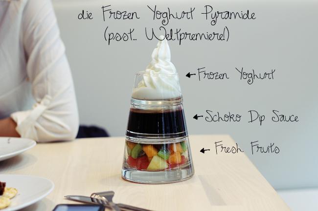 Frozen Yoghurt Pyramide Youghurt Berlin