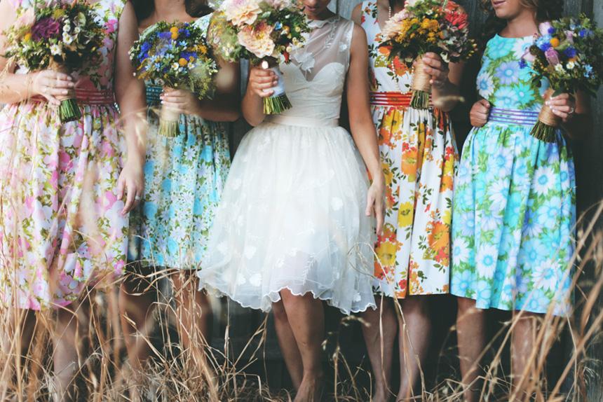 floral bridesmaids melbourne