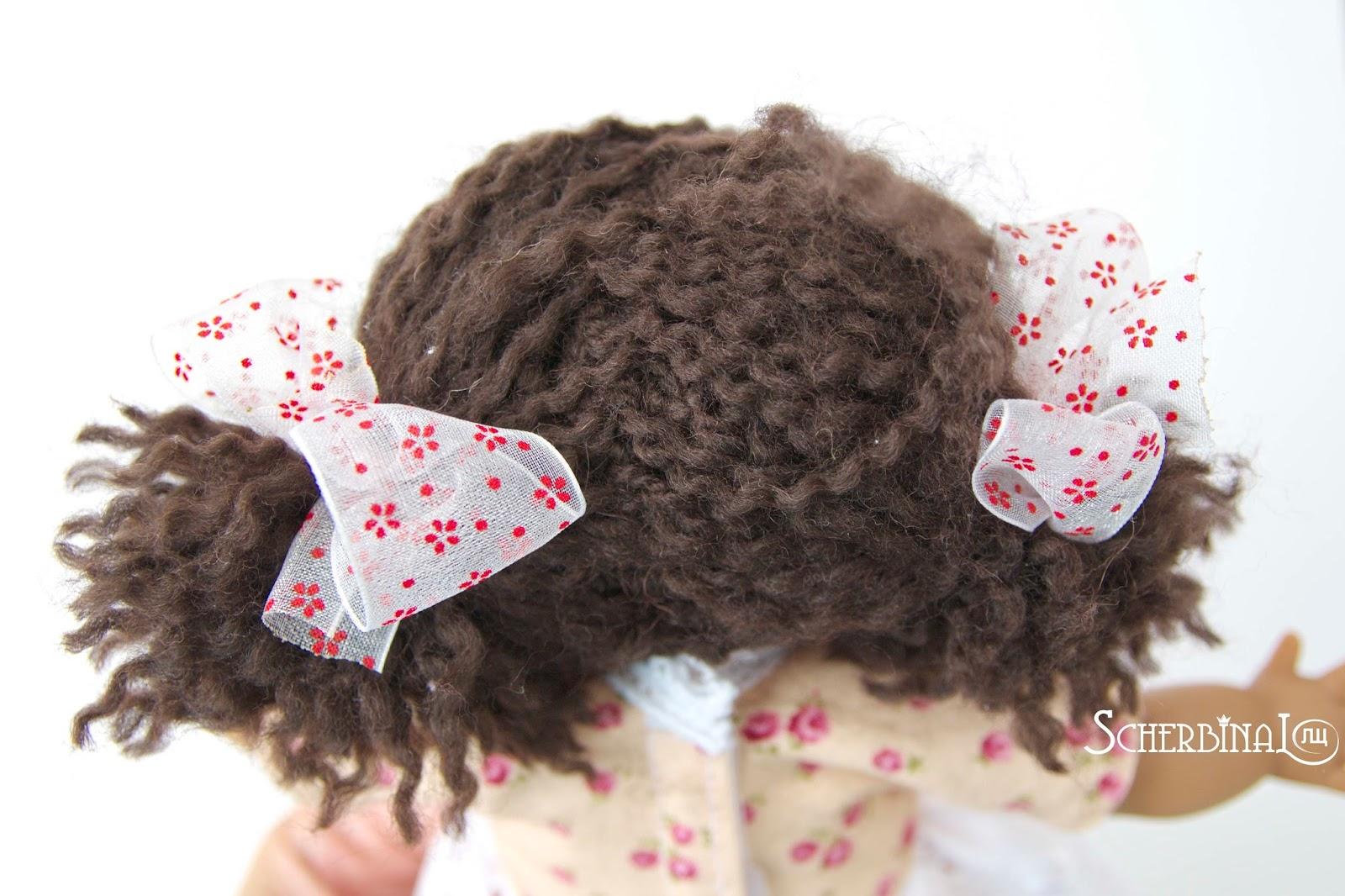 парик для куклы своими руками