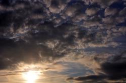 Noch ist die Sonne zu sehen...