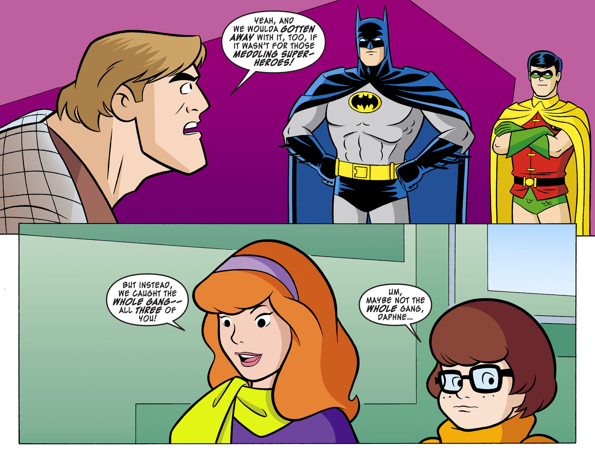 Read online Scooby-Doo! Team-Up comic -  Issue #1 - 20