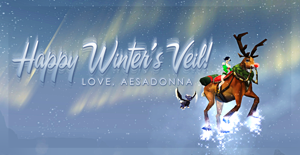 derp kn00b the misadventures of aesadonna happy winter s veil 2011
